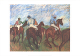 Before the Race Collectable Print by Edgar Degas