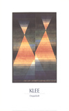 Double Tent Collectable Print by Paul Klee
