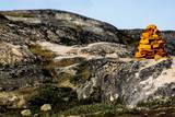 Stack of Stones in Greenland Photographic Print by Françoise Gaujour