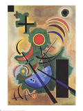 Standhaftes Grun Collectable Print by Wassily Kandinsky