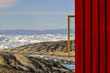 View from the Hotel Arctic in Ilulissat, Greenland Photographic Print by Françoise Gaujour