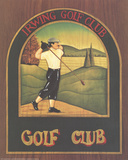 Irwring Golf Club Collectable Print by S. Roberts