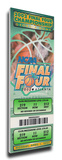 2002 Final Four Mega Ticket - Maryland Terrapins Stretched Canvas Print
