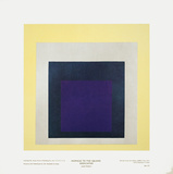 Homage to the Square Dedicated Posters by Josef Albers