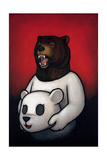 Bear in Mind Premium Giclee Print by Luke Chueh