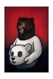 Bear in Mind Premium Giclee Print by Luke Chueh