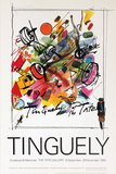 Sculptures + Machines Collectable Print by Jean Tinguely