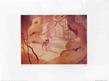 Walt Disney's Bambi: The Forest was White Prints