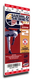 2007 World Series Mega Ticket - Boston Red Sox Stretched Canvas Print