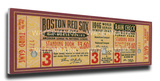 1946 World Series Mega Ticket - Boston Red Sox Stretched Canvas Print