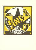 Robert Indiana - Skid Row - Koleksiyonluk Baskılar