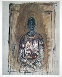 Portrait of Caroline Collectable Print by Alberto Giacometti