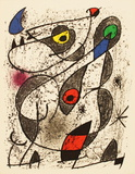 A L'Encre II Collectable Print by Joan Miró