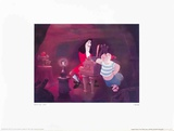 Walt Disney's Peter Pan: Captain Hook, Smee and Tinkerbell Prints