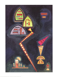 Grun Collectable Print by Wassily Kandinsky