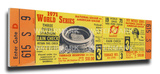 1971 World Series Mega Ticket - Pittsburgh Pirates Stretched Canvas Print