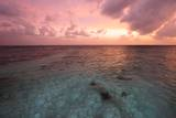 Sunset in Filiteyo, Maldives Photographic Print by Françoise Gaujour