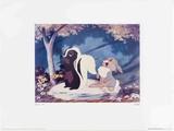 Walt Disney's Bambi: Flower and Thumper look on Plakat