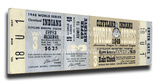 1948 World Series Mega Ticket - Cleveland Indians Stretched Canvas Print