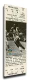Sam Jones Mega Ticket - Boston Celtics Stretched Canvas Print
