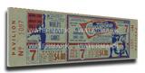 1964 World Series Mega Ticket - St Louis Cardinals Stretched Canvas Print