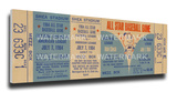 1964 MLB All-Star Game Mega Ticket, Mets Host - MVP Johnny Callison, Phillies Stretched Canvas Print