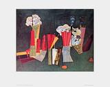 Fishbone Flower Posters par Max Ernst