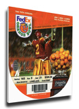 2004 Orange Bowl Mega Ticket - Miami Hurricanes Stretched Canvas Print