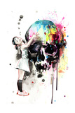 Lora Zombie - Girls Love Skulls Obrazy