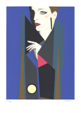 Casual Evening Serigraph by  Razzia