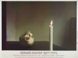 Skull with Candle Reproductions pour les collectionneurs par Gerhard Richter