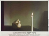 Skull with Candle Collectable Print by Gerhard Richter