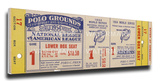 1954 World Series Mega Ticket - New York Giants Stretched Canvas Print