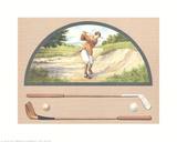 Golf (Men) Collectable Print by Laura Rigo