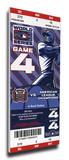2006 World Series Mega Ticket - St Louis Cardinals Stretched Canvas Print