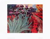 Blue Iris II Posters by Emil Nolde