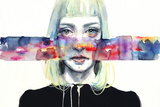 Fuoriluogo Giclee Print by Agnes Cecile