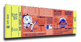 1969 World Series Mega Ticket - New York Mets Stretched Canvas Print