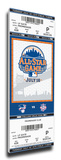 2013 MLB All-Star Game Mega Ticket - New York Mets - MVP Mariano Rivera Stretched Canvas Print