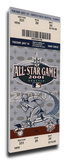 2001 MLB All-Star Game Mega Ticket, Mariners Host - MVP Cal Ripken Jr., Orioles Stretched Canvas Print