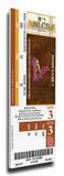 2011 NLCS Mega Ticket - St Louis Cardinals Stretched Canvas Print