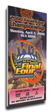 2000 Final Four Mega Ticket - Michigan State Spartans Stretched Canvas Print