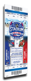 2014 NHL Stadium Series Mega Ticket - Devils vs. Rangers Stretched Canvas Print
