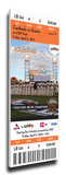 San Francisco Giants 2013 Opening Day Mega Ticket Stretched Canvas Print