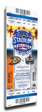 2014 NHL Stadium Series Mega Ticket - Ducks vs. Kings Stretched Canvas Print