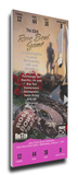 1997 Rose Bowl Mega Ticket - Ohio State Buckeyes Stretched Canvas Print