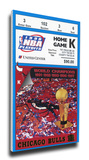 1998 NBA Finals Mega Ticket - Game 3 - Chicago Bulls Stretched Canvas Print