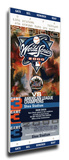 2000 World Series Mega Ticket - New York Mets (Subway Series) Stretched Canvas Print