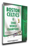 Boston Celtics 2008 NBA Champions Banner Raising Mega Ticket Stretched Canvas Print