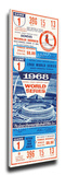 1968 World Series Mega Ticket - St Louis Cardinals (Gibson World Series Record 17 Ks) Stretched Canvas Print